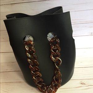 Bucket Steve Madden Black Handbag